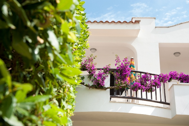 panoramica balcone hotel club vieste gargano