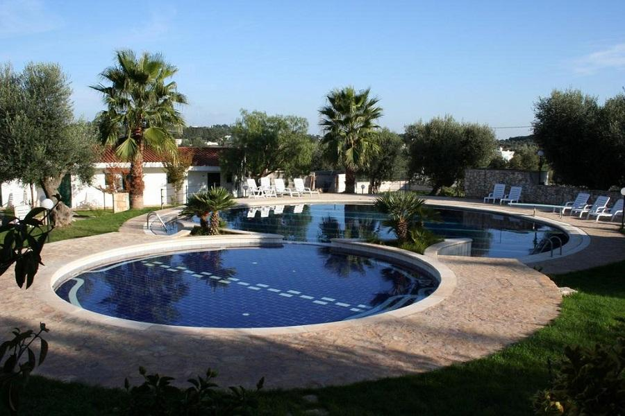 panoramica piscina hotel ostuni puglia