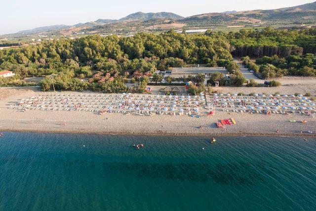 panoramica spiaggia vascellero villaggio bambini gratis calabria