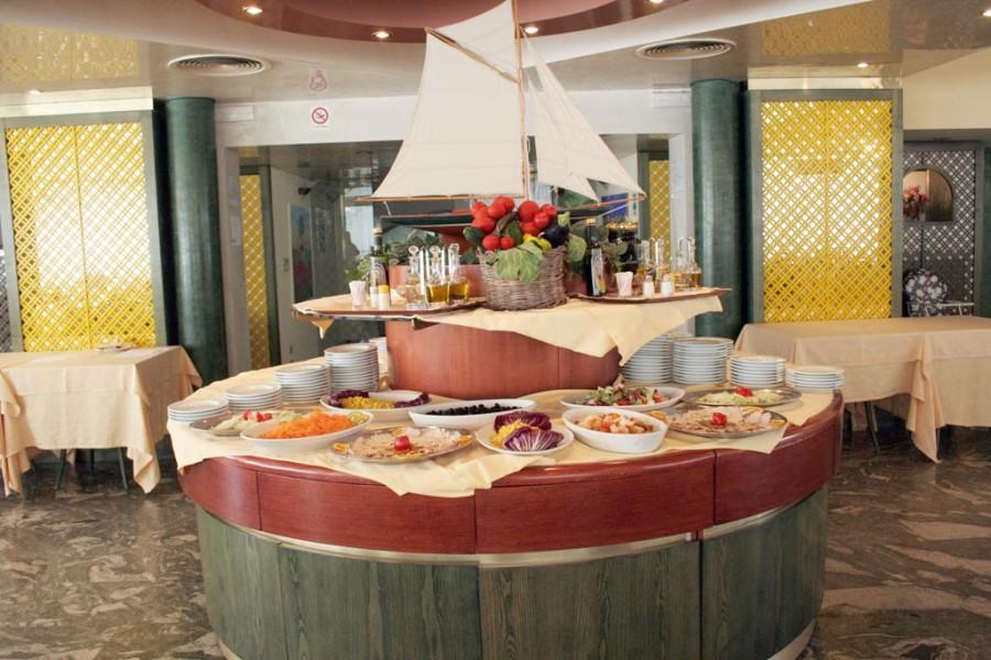 ristorante hotel eden beach direttamente sul mare