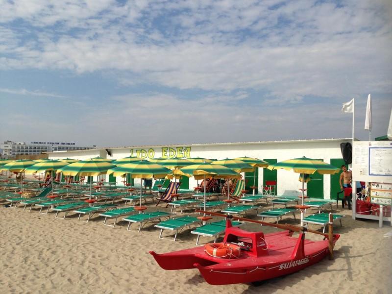 sabbia hotel direttamente sul mare torre canne