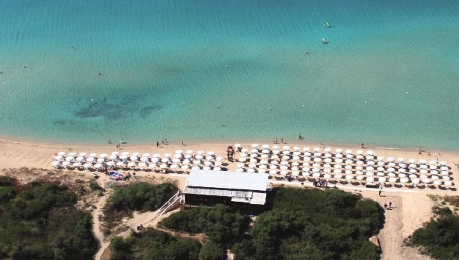 spiaggia panoramica villaggio salento lido marini