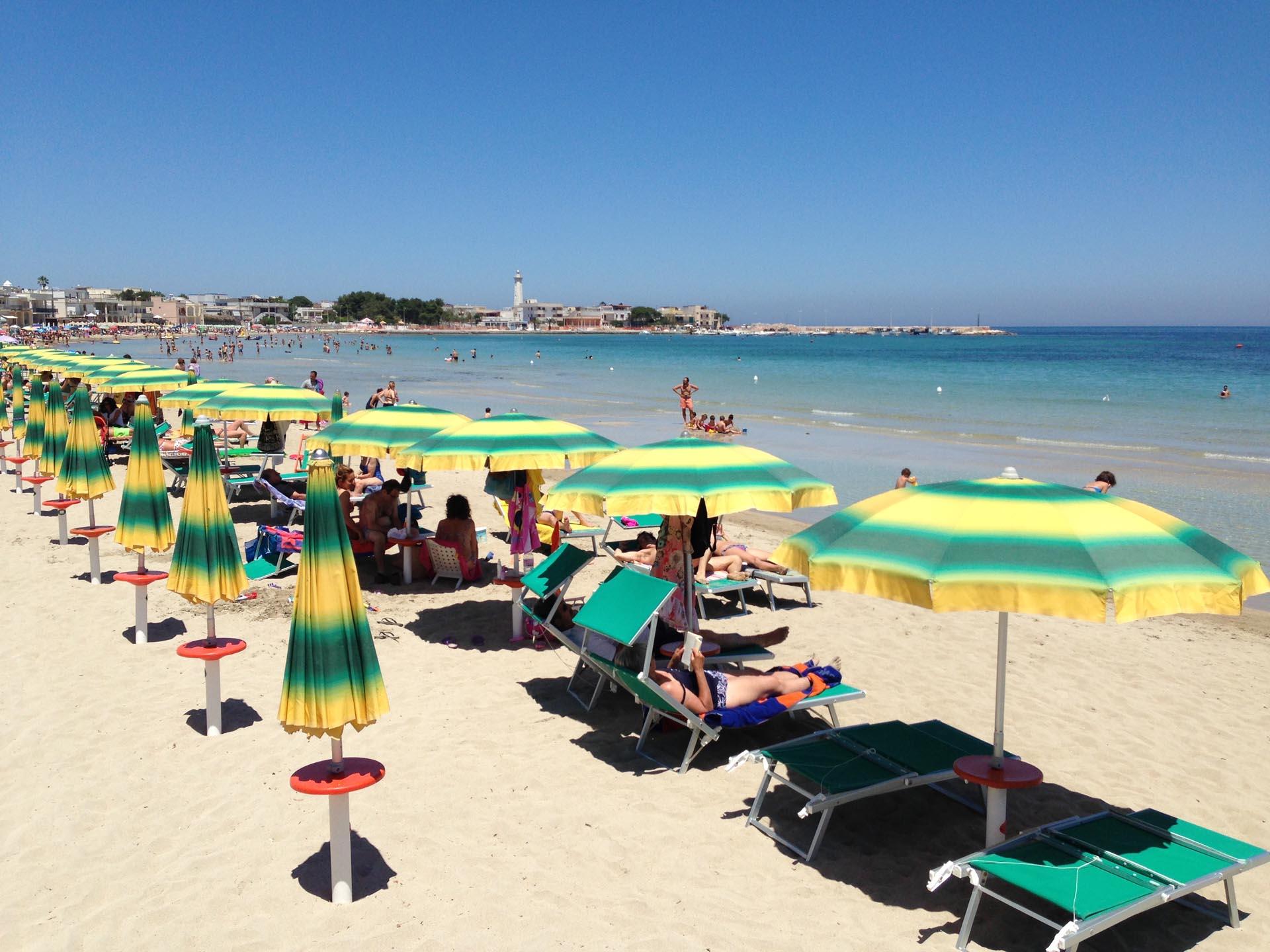 spiaggia torre canne hotel sul mare puglia