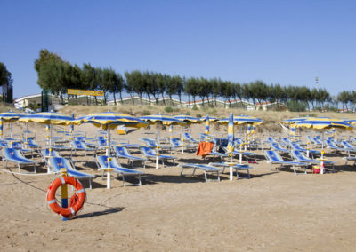 spiaggia vieste villaggio gargano