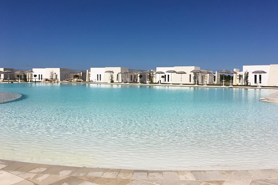 vista piscina salento all inclusive