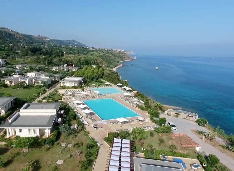 panorama villaggio all inclusive tropea sul mare