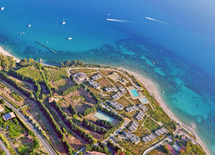 panoramica villaggio all inclusive tropea sul mare