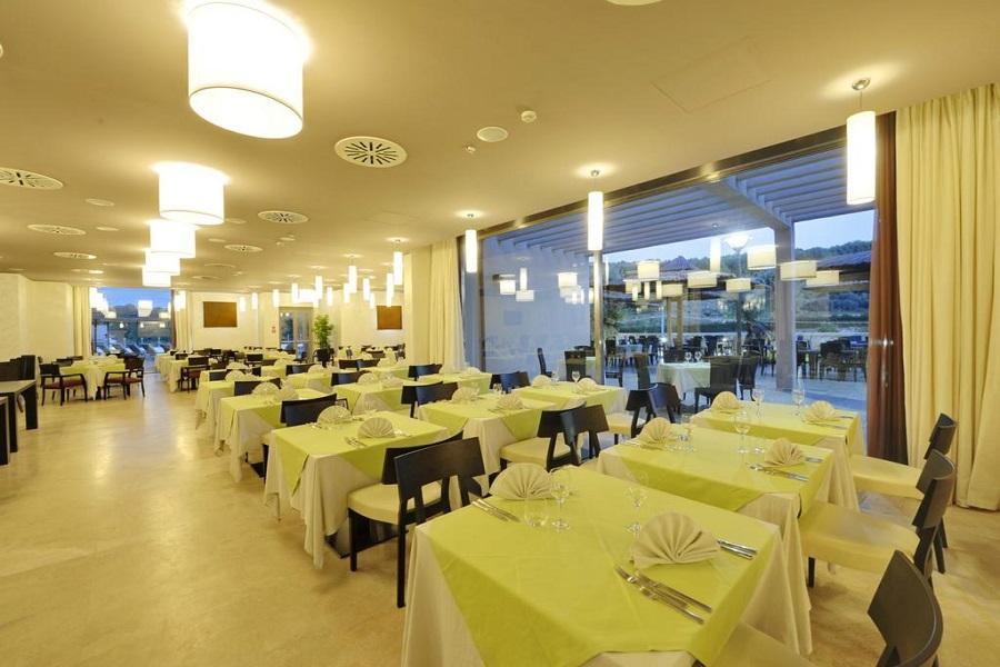 sala ristorante hotel benessere otranto