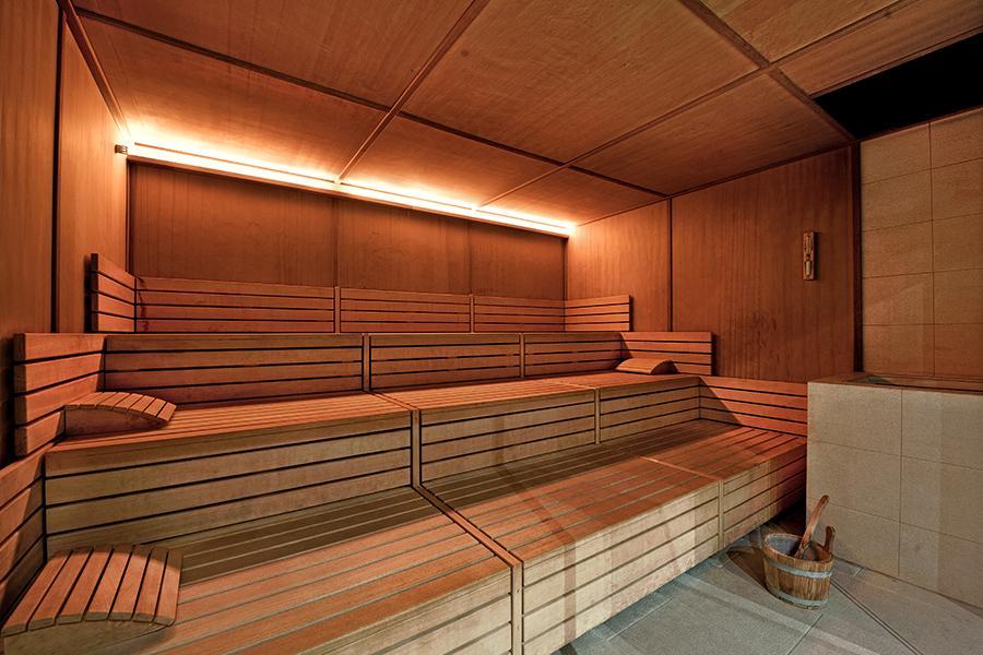 sauna hotel benessere otranto