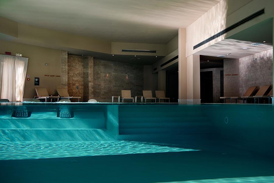 solarium interno hotel benessere otranto