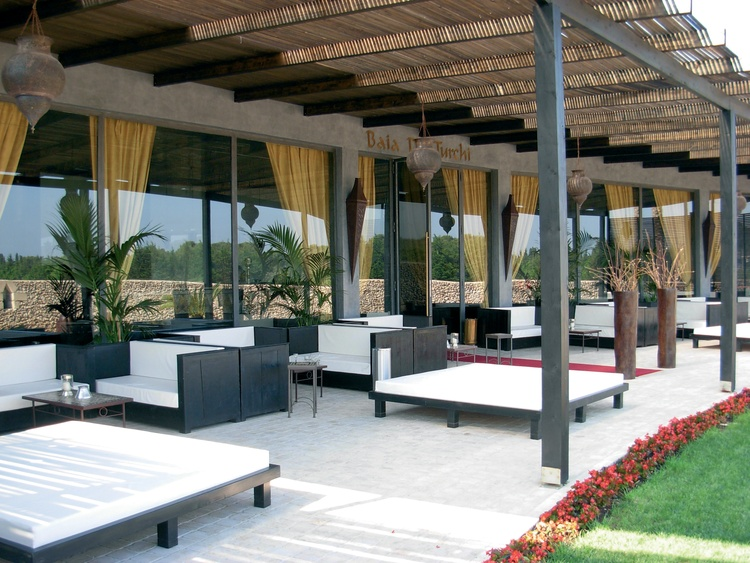 ristorante hotel baia dei turchi otrnato puglia