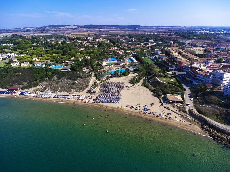 vista alto spiaggia baia degli dei myapuliastyle calabria