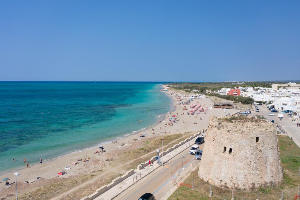 spiaggia torre mozza salento